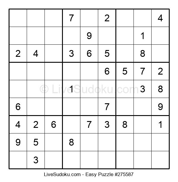 Beginners Puzzle #275587