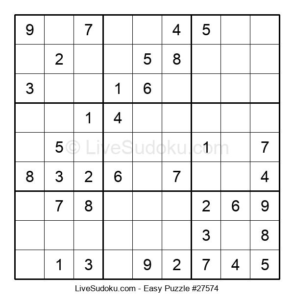 Beginners Puzzle #27574