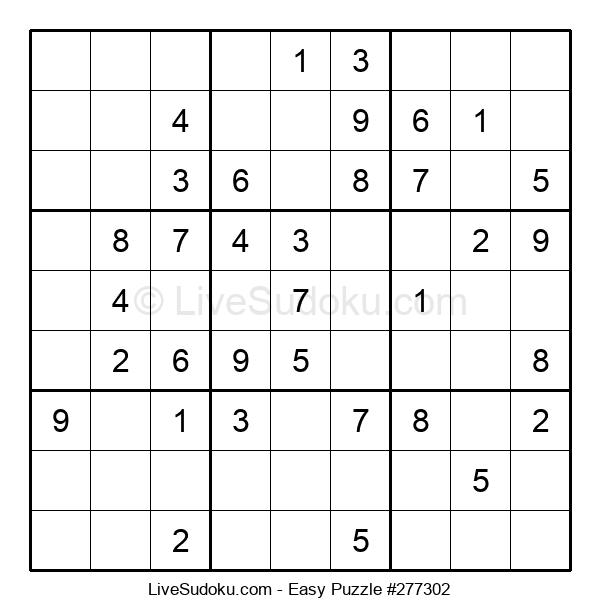 Beginners Puzzle #277302