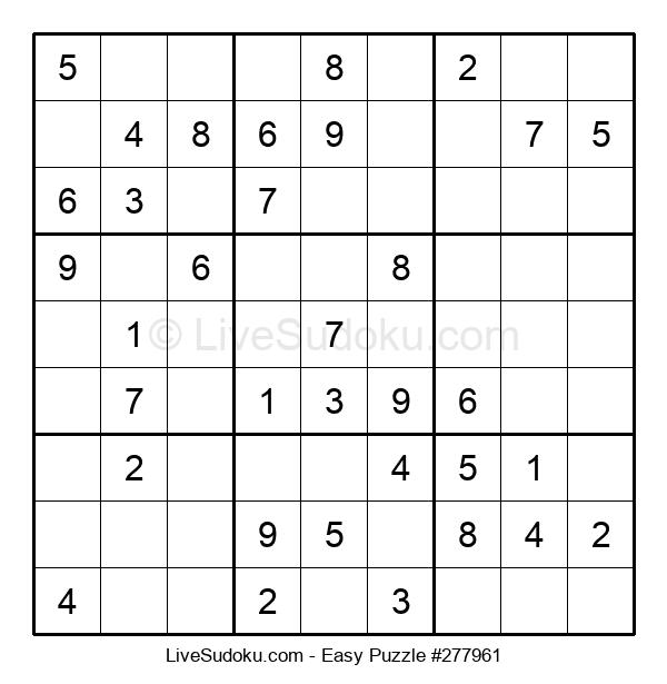 Beginners Puzzle #277961