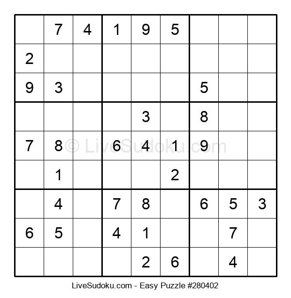 Beginners Puzzle #280402