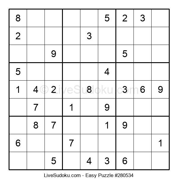 Beginners Puzzle #280534