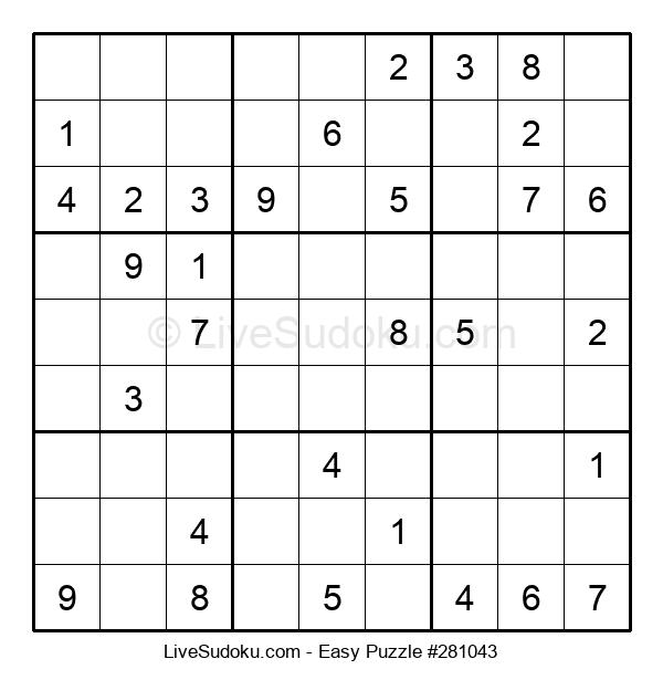Beginners Puzzle #281043