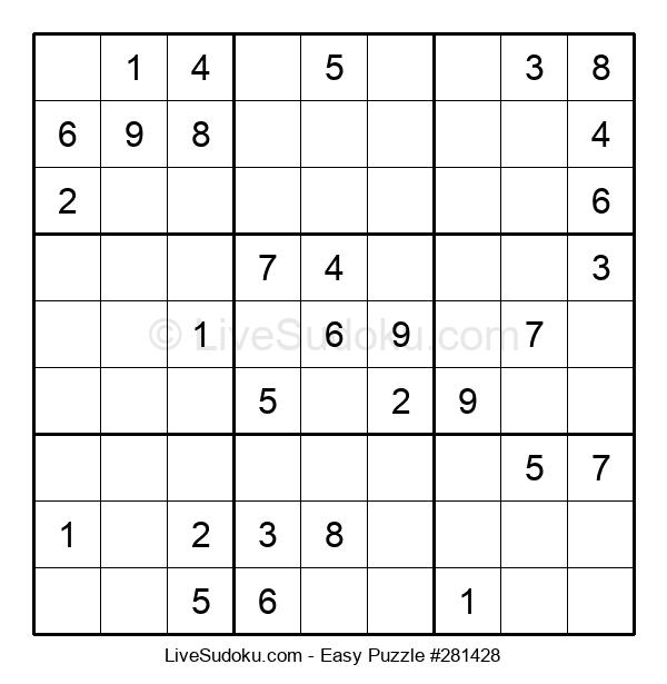 Beginners Puzzle #281428