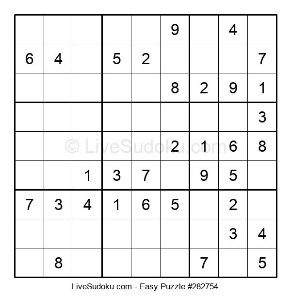 Beginners Puzzle #282754