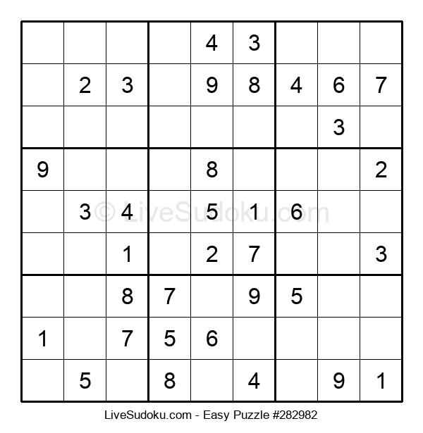 Beginners Puzzle #282982