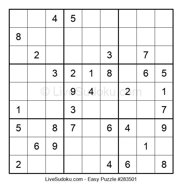 Beginners Puzzle #283501