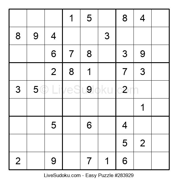 Beginners Puzzle #283929