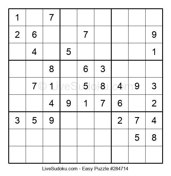 Beginners Puzzle #284714