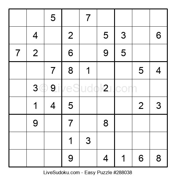 Beginners Puzzle #288038