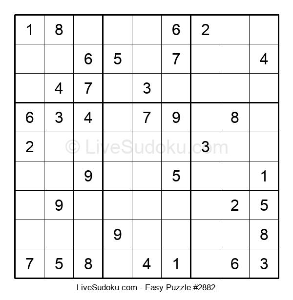 Beginners Puzzle #2882