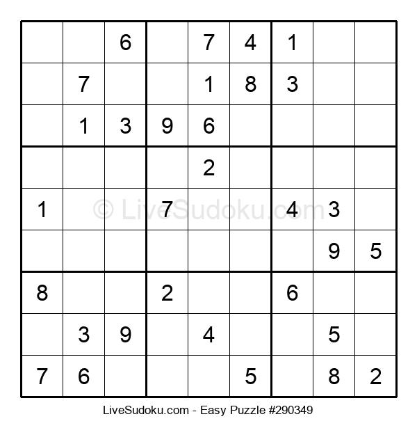 Beginners Puzzle #290349