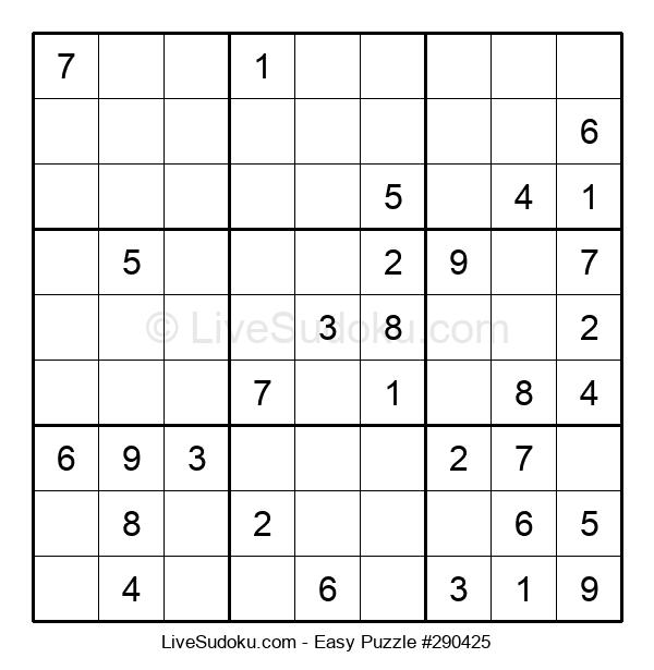 Beginners Puzzle #290425