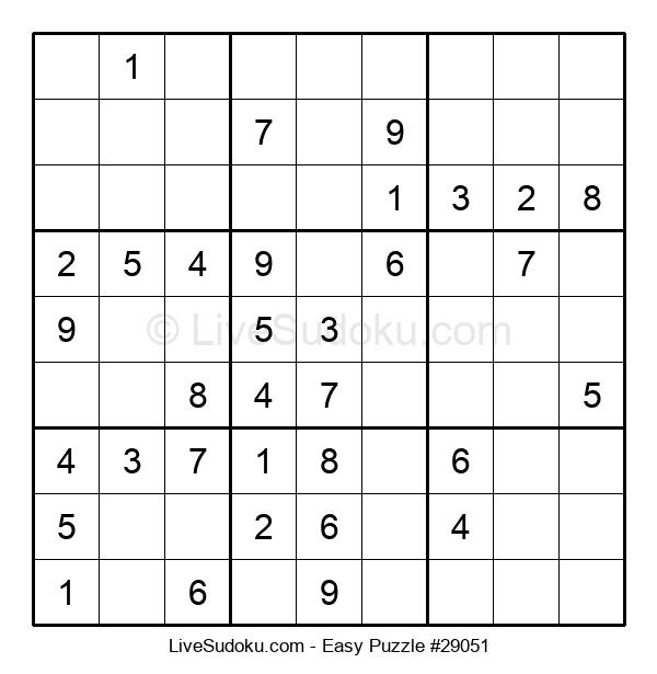 Beginners Puzzle #29051