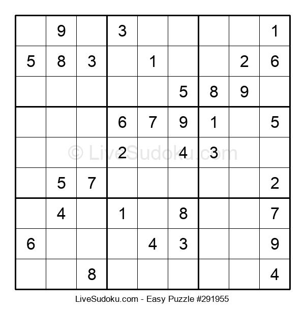 Beginners Puzzle #291955