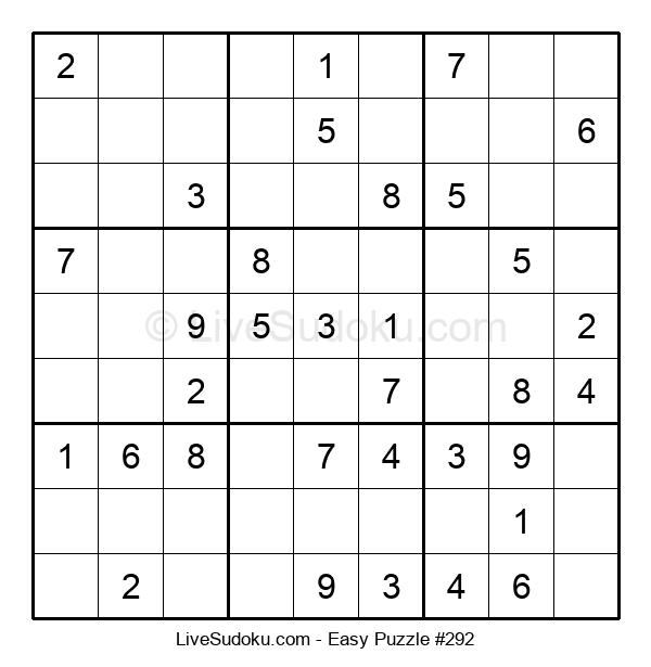 Beginners Puzzle #292
