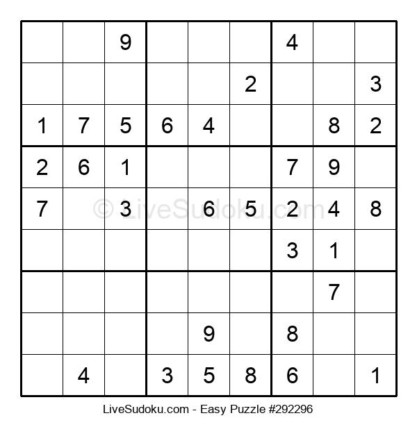 Beginners Puzzle #292296