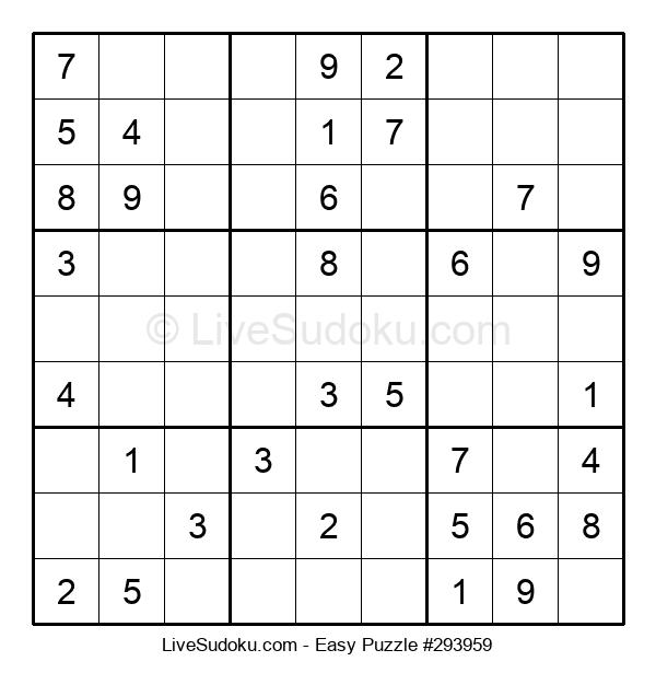 Beginners Puzzle #293959