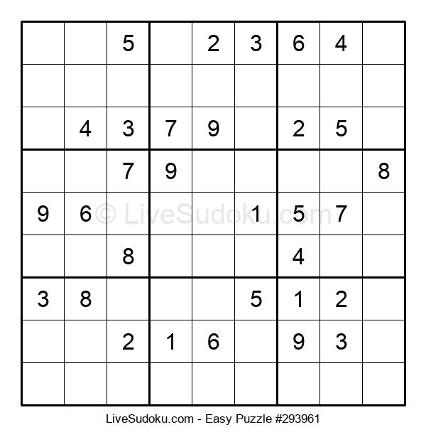 Beginners Puzzle #293961