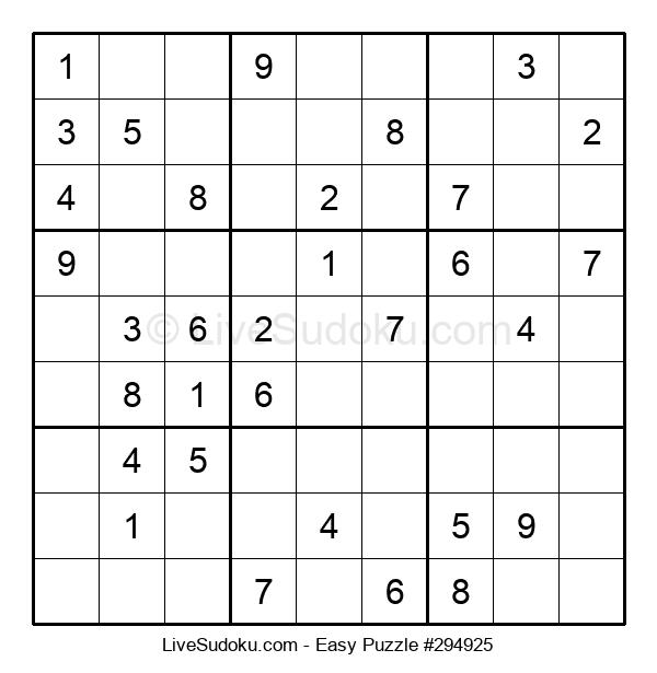 Beginners Puzzle #294925