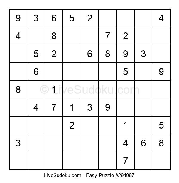 Beginners Puzzle #294987