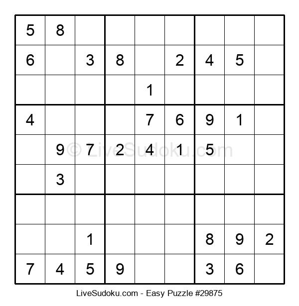 Beginners Puzzle #29875