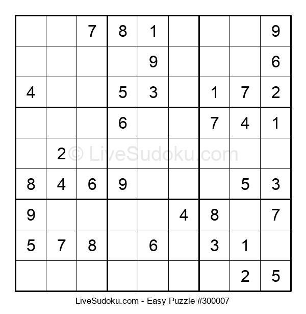 Beginners Puzzle #300007