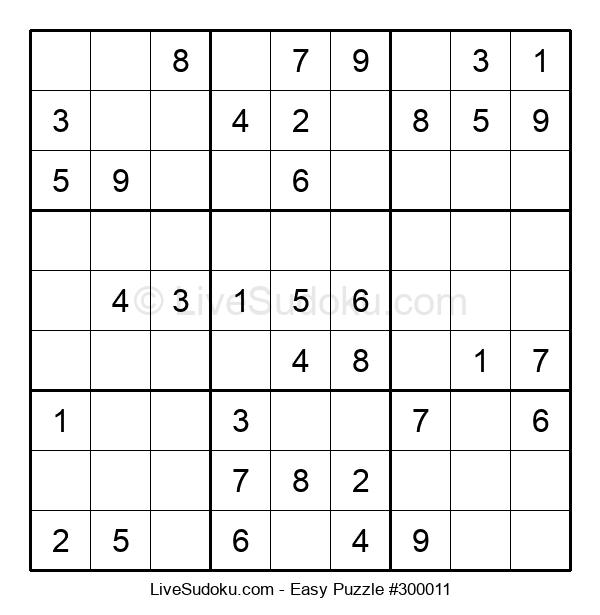Beginners Puzzle #300011