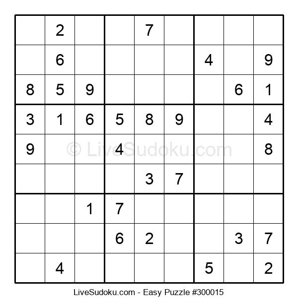 Beginners Puzzle #300015
