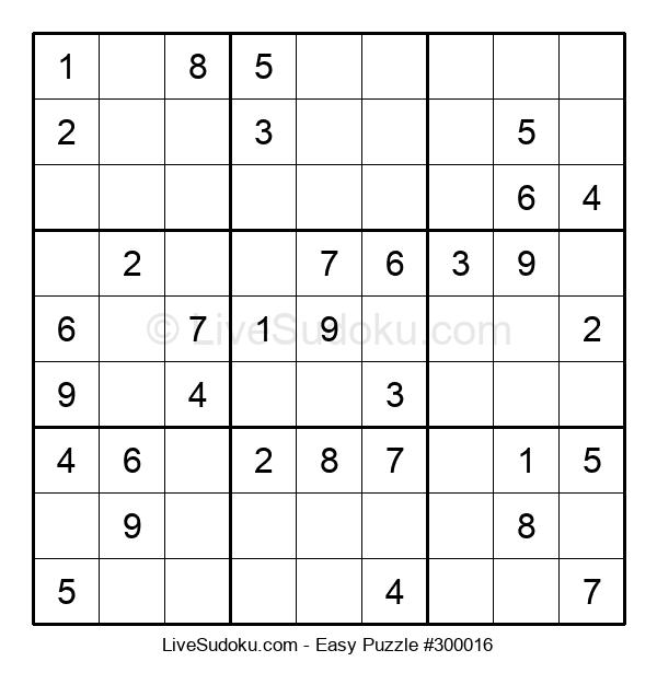 Beginners Puzzle #300016