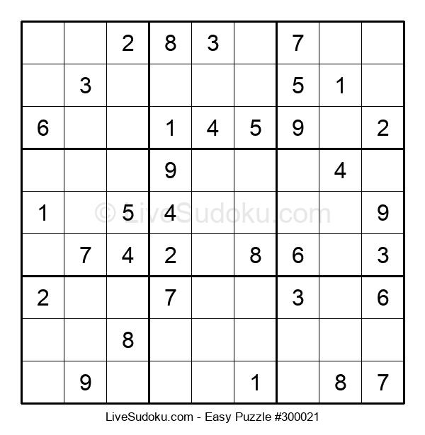 Beginners Puzzle #300021