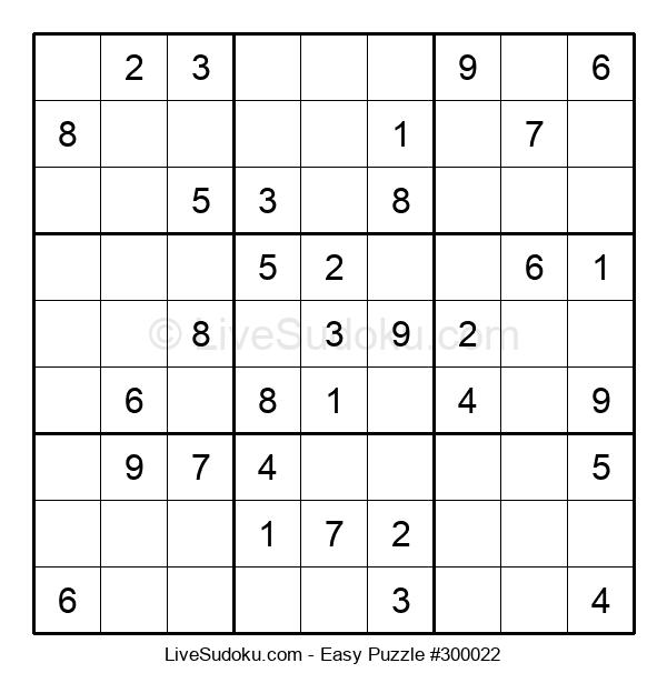 Beginners Puzzle #300022