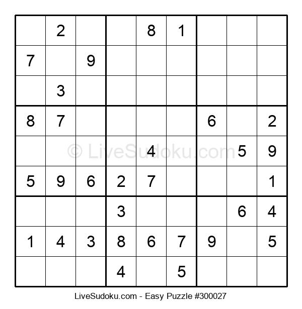 Beginners Puzzle #300027