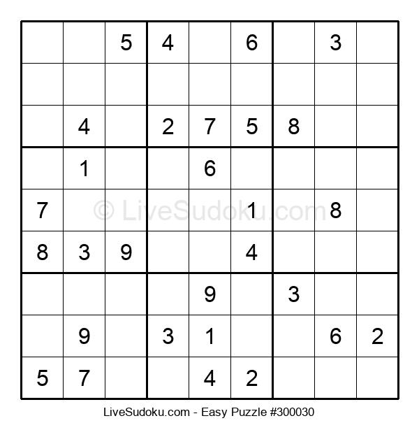 Beginners Puzzle #300030
