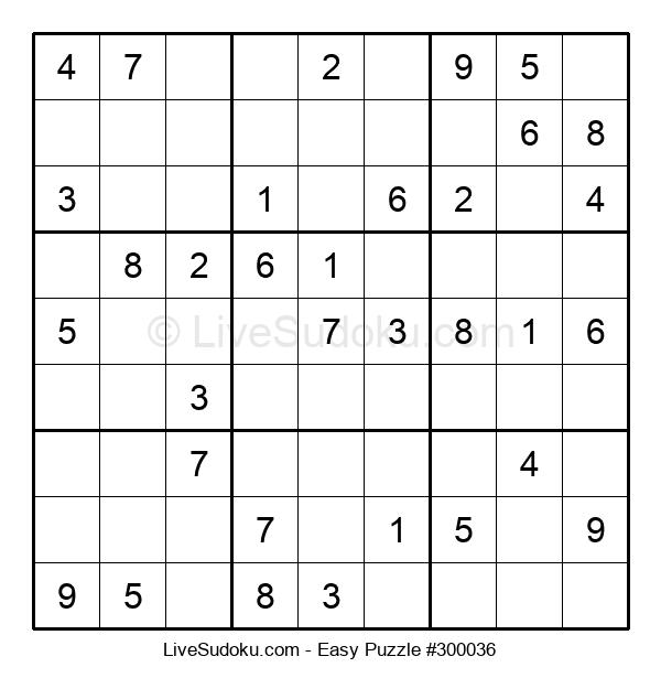 Beginners Puzzle #300036