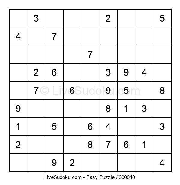 Beginners Puzzle #300040