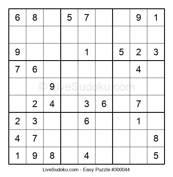 Beginners Puzzle #300044