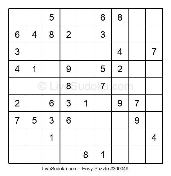 Beginners Puzzle #300049