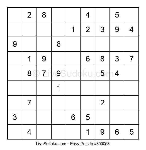 Beginners Puzzle #300058
