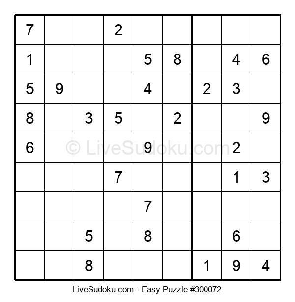 Beginners Puzzle #300072