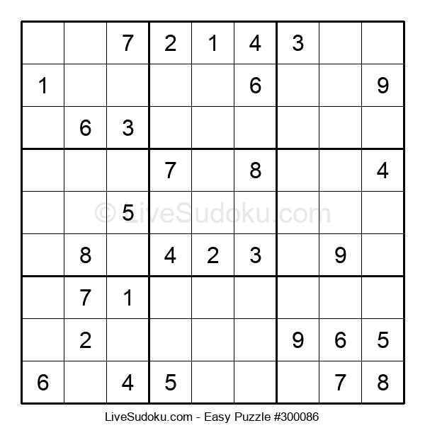 Beginners Puzzle #300086