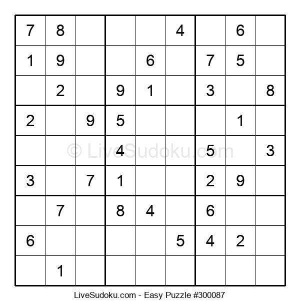 Beginners Puzzle #300087