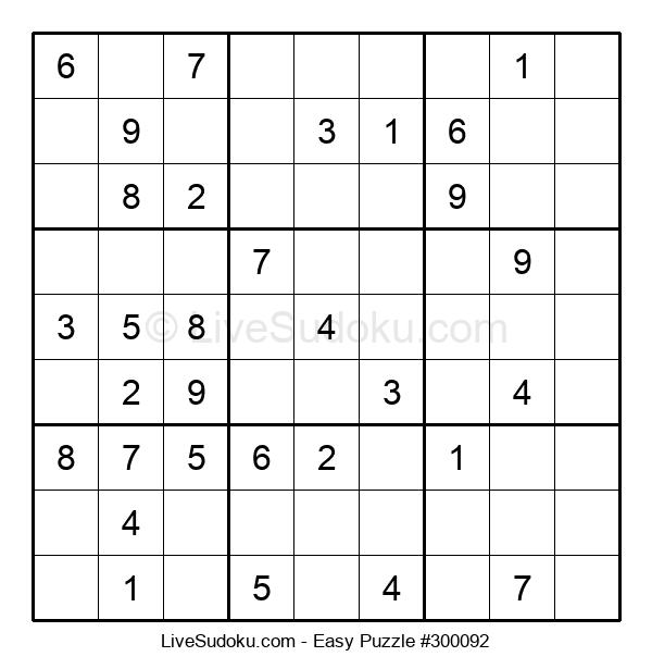 Beginners Puzzle #300092