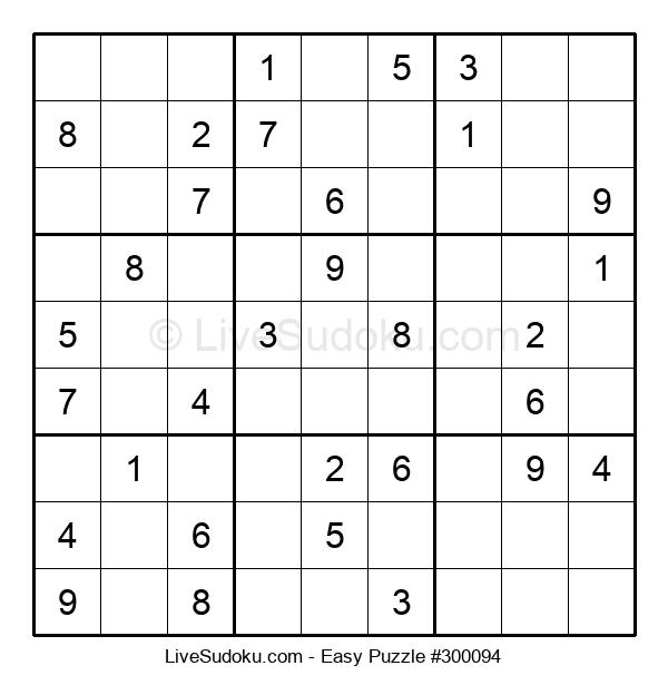 Beginners Puzzle #300094