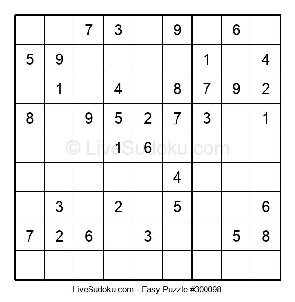 Beginners Puzzle #300098