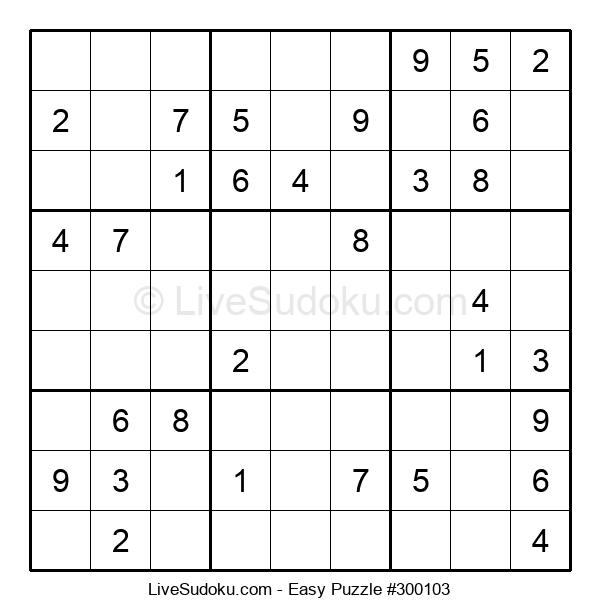 Beginners Puzzle #300103
