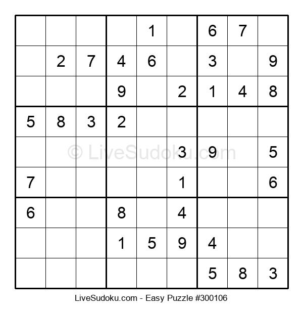Beginners Puzzle #300106