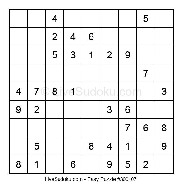 Beginners Puzzle #300107