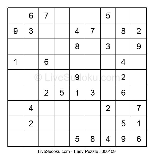 Beginners Puzzle #300109