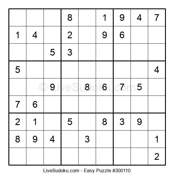 Beginners Puzzle #300110